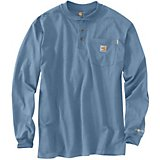 7a8a0e3667 Carhartt Men s Flame-Resistant Force Cotton Long Sleeve Henley