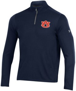 Under Armour Men's Auburn University Threadborne 1/4 Zip Pullover