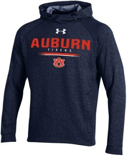 Under Armour Men's Auburn University MK1 Pullover Hoodie