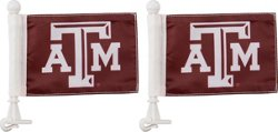 Texas A&M University Team Ambassador 4 in x 6 in Flag