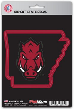University of Arkansas State Decal