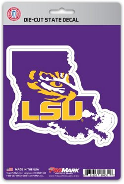 Team ProMark Louisiana State University State Decal