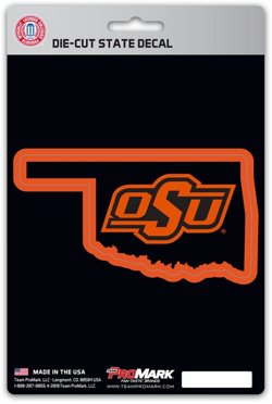 Oklahoma State University State Decal