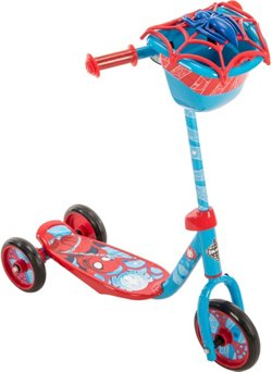 Huffy Kids' Marvel Spider-Man 3-Wheel Scooter