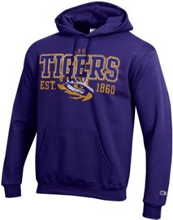 Champion Men's Louisiana State University Fleece Hoodie