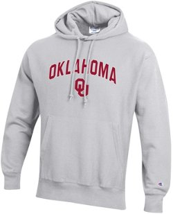 Men's University of Oklahoma Reverse Weave Fleece Hoodie