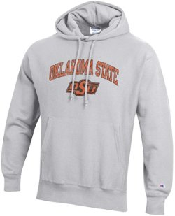 Champion Men's Oklahoma State University Reverse Weave Fleece Hoodie