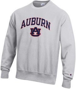 Champion Men's Auburn University Reverse Weave Fleece Shirt