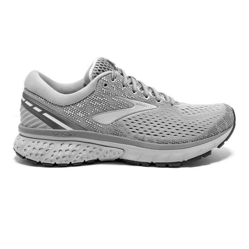 cbfaf86c5bdf0 Brooks Women s Ghost 11 Running Shoes Grey White