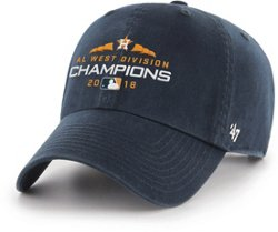 47 Brand Men's Houston Astros ALDS West Champions Clean Up Cap