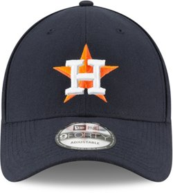 New Era Men's Houston Astros Postseason Side Patch 9FORTY Adjustable Cap