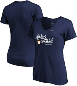 Majestic Women's Houston Astros Postseason Participant Team Slogan T-Shirt