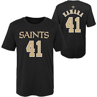 buy online b4a4f a8bee NFL Boys' New Orleans Saints Alvin Kamara 41 Mainliner T-shirt
