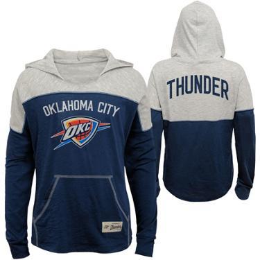 e62767f9 ... NBA Girls' Oklahoma City Thunder Preseason Slouchy Hoodie. Oklahoma  City Thunder Clothing. Hover/Click to enlarge