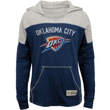 dfd546ef NBA Girls' Oklahoma City Thunder Preseason Slouchy Hoodie | Academy
