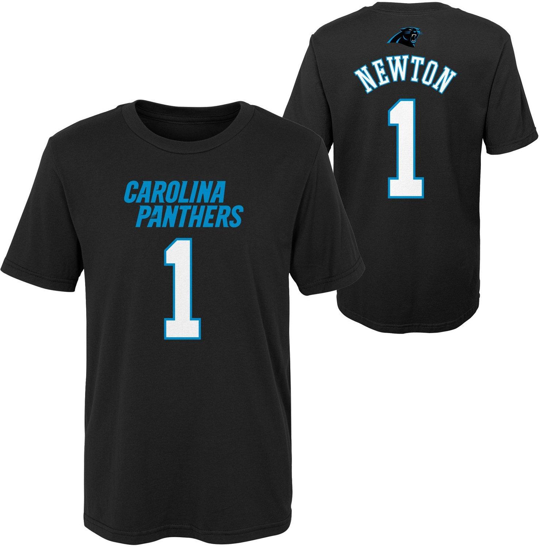 promo code 8b192 411c2 NFL Boys' Carolina Panthers Cam Newton 1 Mainliner T-shirt