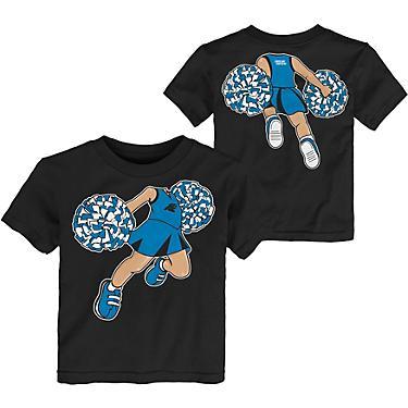 on sale 1df85 54b3b NFL Toddlers' Carolina Panthers Pom Pom Cheer T-shirt