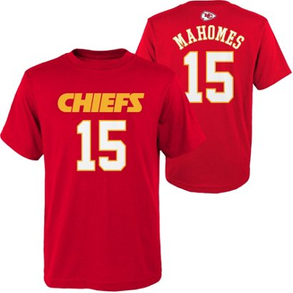 96c2c765d ... Patrick Mahomes 15 Mainliner T-shirt. Kansas City Chiefs Clothing.  Hover Click to enlarge