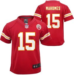 Nike Boys' Kansas City Chiefs Patrick Mahomes 15 Game Team Jersey