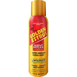 3 oz Super Charged Golden Estrus Scent Spray