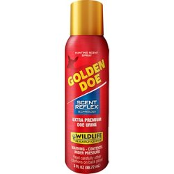 3 oz Golden Doe Extra Premium Doe Urine Spray