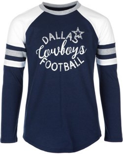 Dallas Cowboys Girls' Prim Long Sleeve T-shirt