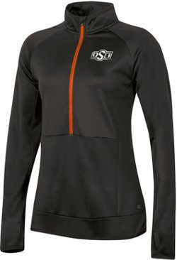 Champion Women's Oklahoma State University Anchor 1/2 Zip Pullover