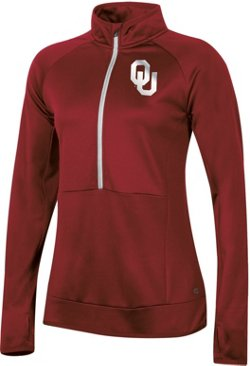 Champion Women's University of Oklahoma Anchor 1/2 Zip Pullover