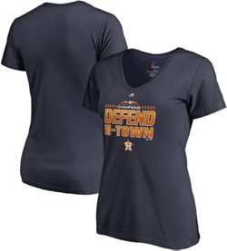 Majestic Women's Houston Astros 2018 Division Championship Locker Room T-Shirt