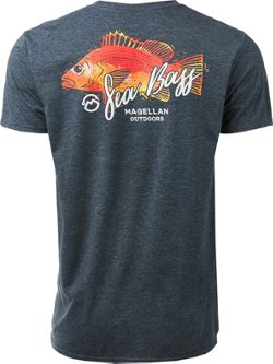 Magellan Outdoors Men's Sea Bass T-shirt