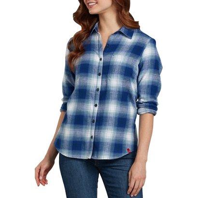 47b56aca ... Dickies Women's Long Sleeve Plaid Shirt. Work Shirts. Hover/Click to  enlarge