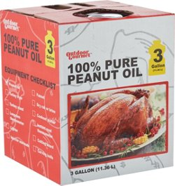 Outdoor Gourmet 3 gal 100% Peanut Oil