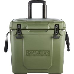 Ice Box 40 qt Rolling Cooler