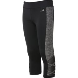 Girls' Lattice Training Capris