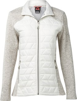 Women's Hybrid Sweater Fleece Jacket