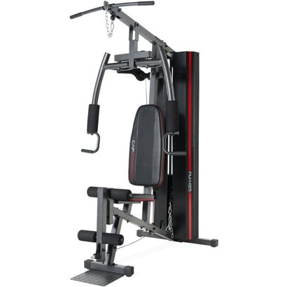Cap cs home gym with 125 lb weight stack academy
