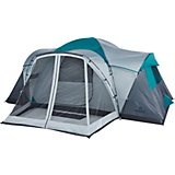 Magellan Outdoors Cumberland 10 Person Family Cabin Tent with Screen Porch and Lights