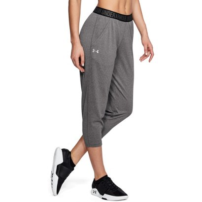 bb82bf8312 ... Armour Women's Play Up Solid Capri Pant. Women's Pants & Leggings.  Hover/Click to enlarge