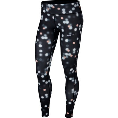 cba0c6b7fd ... Nike Women s Essential Printed Running Tights. Women s Compression Pants.  Hover Click to enlarge