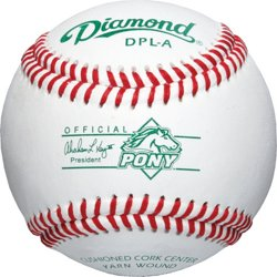 Pony League Tournament Grade Baseballs 12-Pack