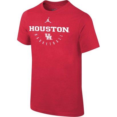 d145cef898e354 Jordan Boys  University of Houston Core Cotton T-shirt