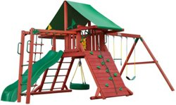 Sun Valley II Cedar Swing Set