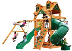 Mountaineer Cedar Swing Set with Malibu Roof