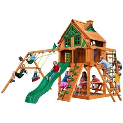 Navigator Tree House Cedar Swing Set with Fort