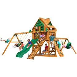 Frontier Tree House Swing Set with Fort