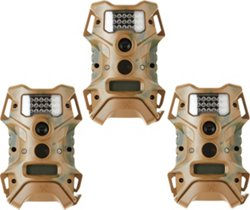 Wildgame Innovations Extreme 12.0 MP Infrared Trail Cameras 3-Pack
