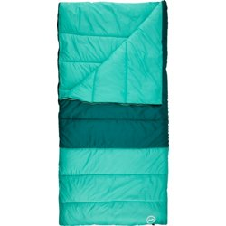 30 degrees F Color Block Sleeping Bag