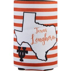 University of Texas 2fer Striped Can Coolie