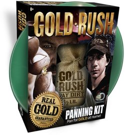 Pay Dirt Gold Company Gold Rush 1/2 lb Panning Kit