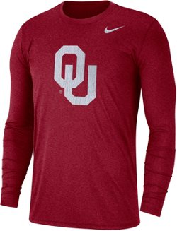 Nike Men's University of Oklahoma Triblend Vault Crew Shirt